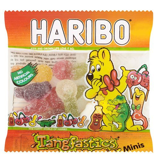 Haribo Tangfastics Bag 16g Party Bag Sweets Fillers