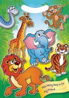 Jungle Party Bag Zoo Party Bag Toys
