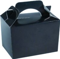 100 Black Party Food Boxes Wholesale