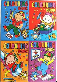 100 Mini Fun Colouring Books Wholesale