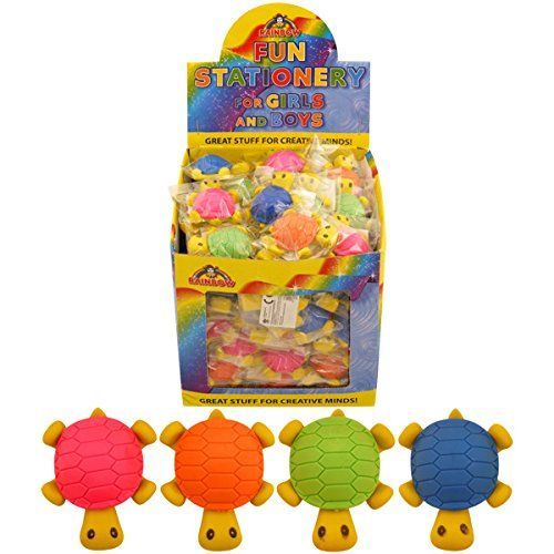 96 Turtle Erasers (1 Box) Novelty Erasers Wholesale
