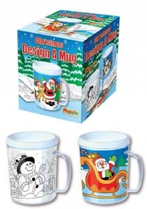 Christmas Design a Mug Boxed & Wrapped