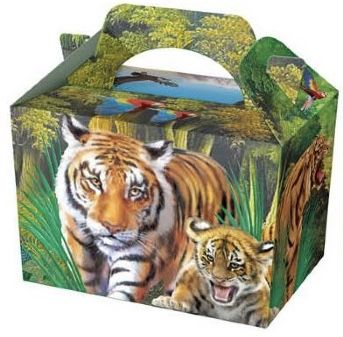 Jungle Wild life Party Food Box