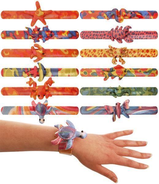 Animal Snap Band Bracelet Party Bag Toys