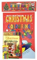 Christmas Activity Pack (3 Books  + 1 pk Crayons)