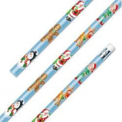 Christmas  Pencil with Eraser Party Bag Toys