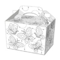 Colour Your Own Butterfly Food Box Party Box