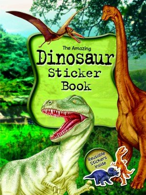 Dinosaur A4 Sticker Book