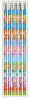 Fairy Pencils with Eraser (1 pencil supplied) Party Bag Toys Fillers