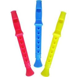 Flute Neon 14cms Party Bag  Fillers Toys Noise