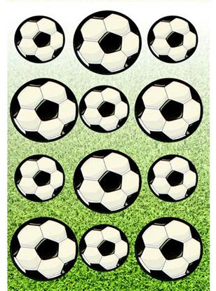 Football Stickers Party Bag Fillers
