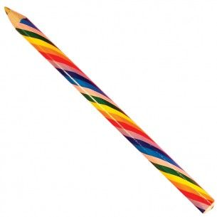 Giant Rainbow Pencil