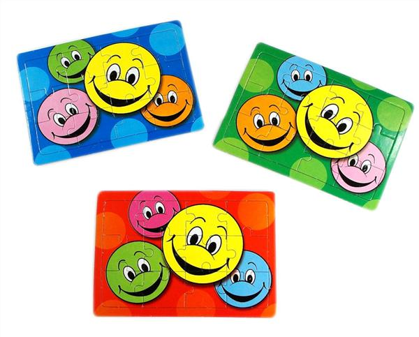 Happy Face Jigsaw Puzzle Party Bag Toys Fillers