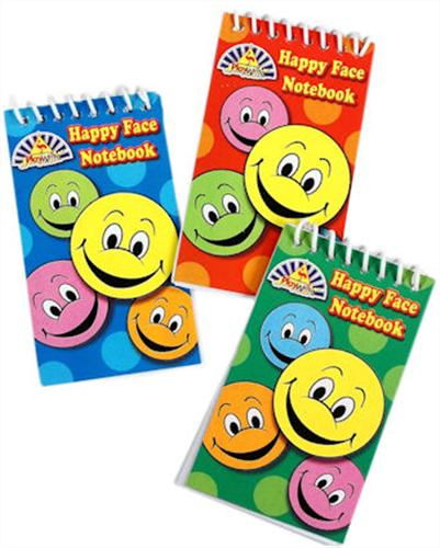 Happy Face Notebook Party Bag Toys