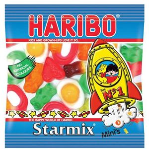 Haribo Starmix Bag 16g Sweets Party Bag Fillers
