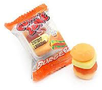 Mini Gummy Burger Gummi Zone