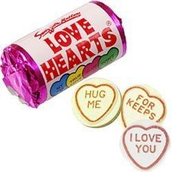Mini Love Hearts Party Bag Sweets Fillers