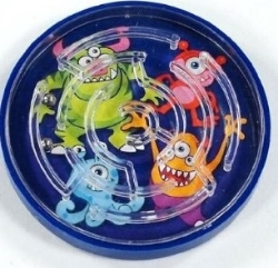 Monster Maze Puzzle Party Bag Toys