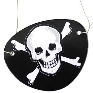 Pirate Eye Patch Scull & Crossbone Party Bag Toys