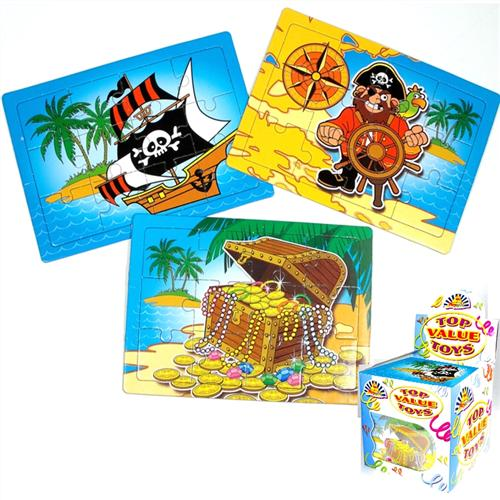 Pirate Jigsaw Puzzle Party Bag Toys