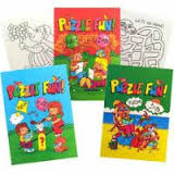 Puzzle Fun Book A6 Party Bag Toys