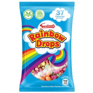 Rainbow Drops (V) Retro Sweets Party Bag Sweets Fillers