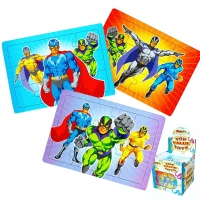 Super Hero Jigsaw Puzzle Party Bag Toys