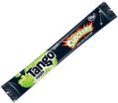 Tango Shockers Apple Flavour Sour Fizz Chew Bar
