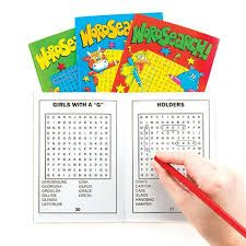 Word Search A6  Book Party Bag toys